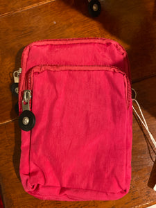 Small Side Purse—Fuschia -01017
