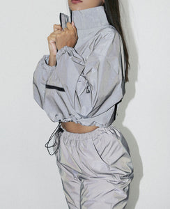 Reflective Color Two-piece Set