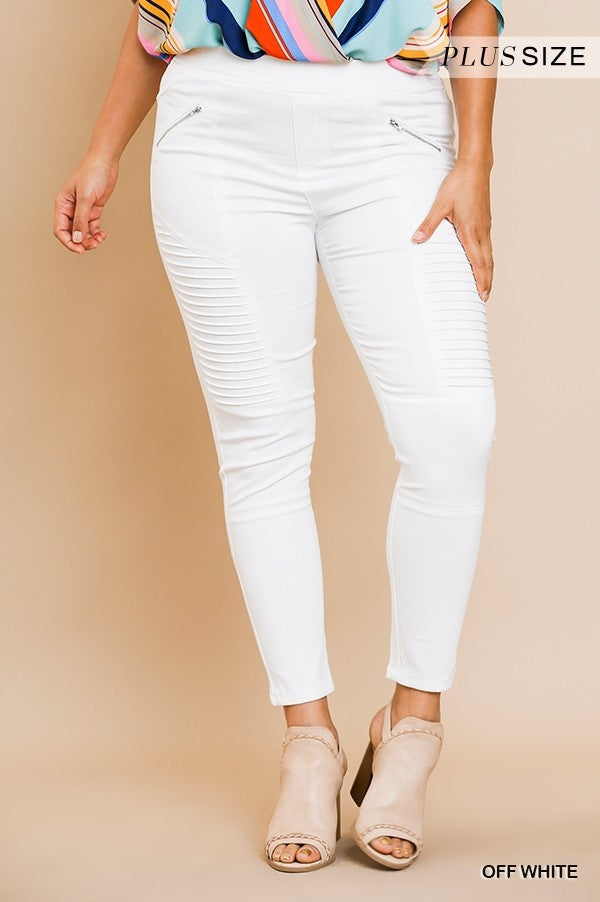 Off White High Waist Leggings