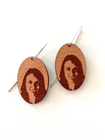 Rimu Jacinda Ardern Earrings - Julia Huyser Design