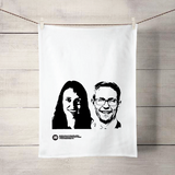 Ashley & Jacinda tea towel - Julia Huyser Design