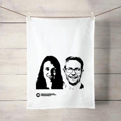 Ashley&Jacinda tea towel - Julia Huyser Design