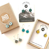 Dandelion Earrings - STERLING SILVER - Julia Huyser Design