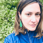 Kea feather earrings - Julia Huyser Design
