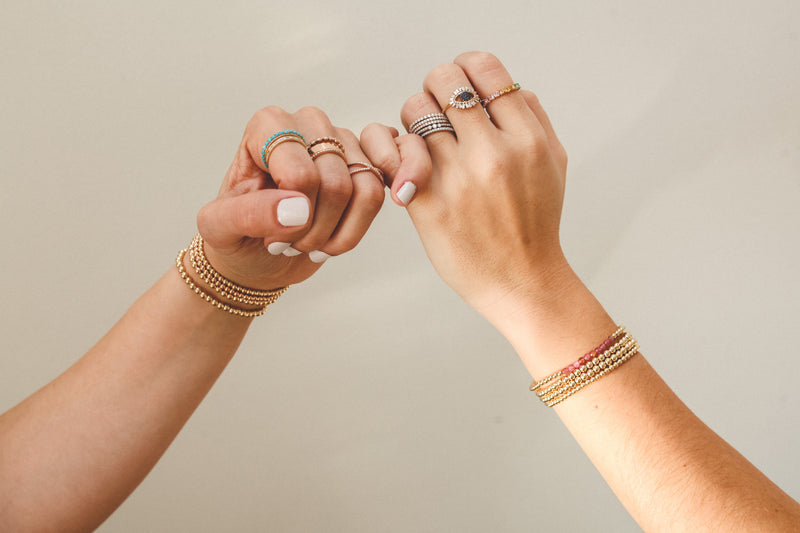 More is More! How to layer your bracelets