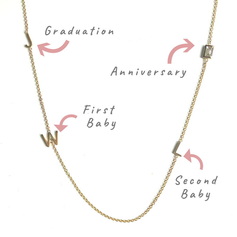 How to Customize Your Initial Necklace