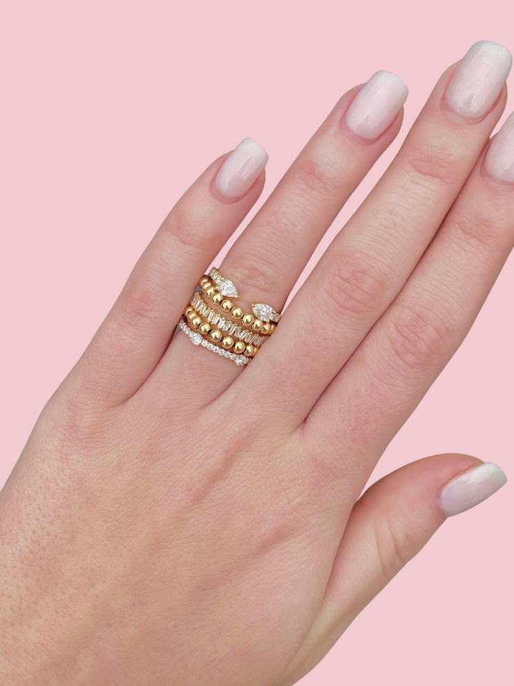 Everyday Stretch Ring - 3mm Yellow