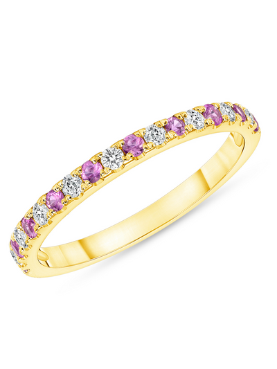 Gracie Ring in Pink Sapphire 14k