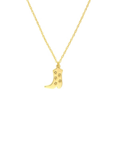 Mini Diamond Star Charm - 14k