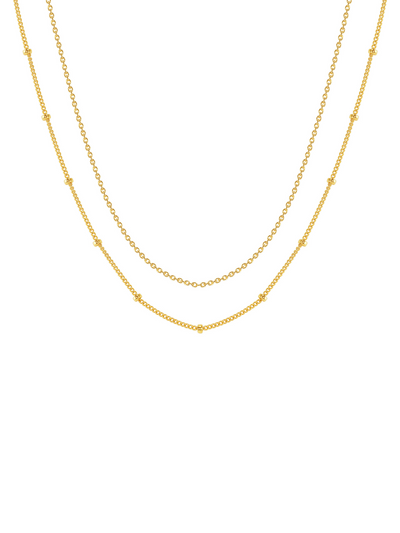 Favorite Mixed Chain Layering Necklace