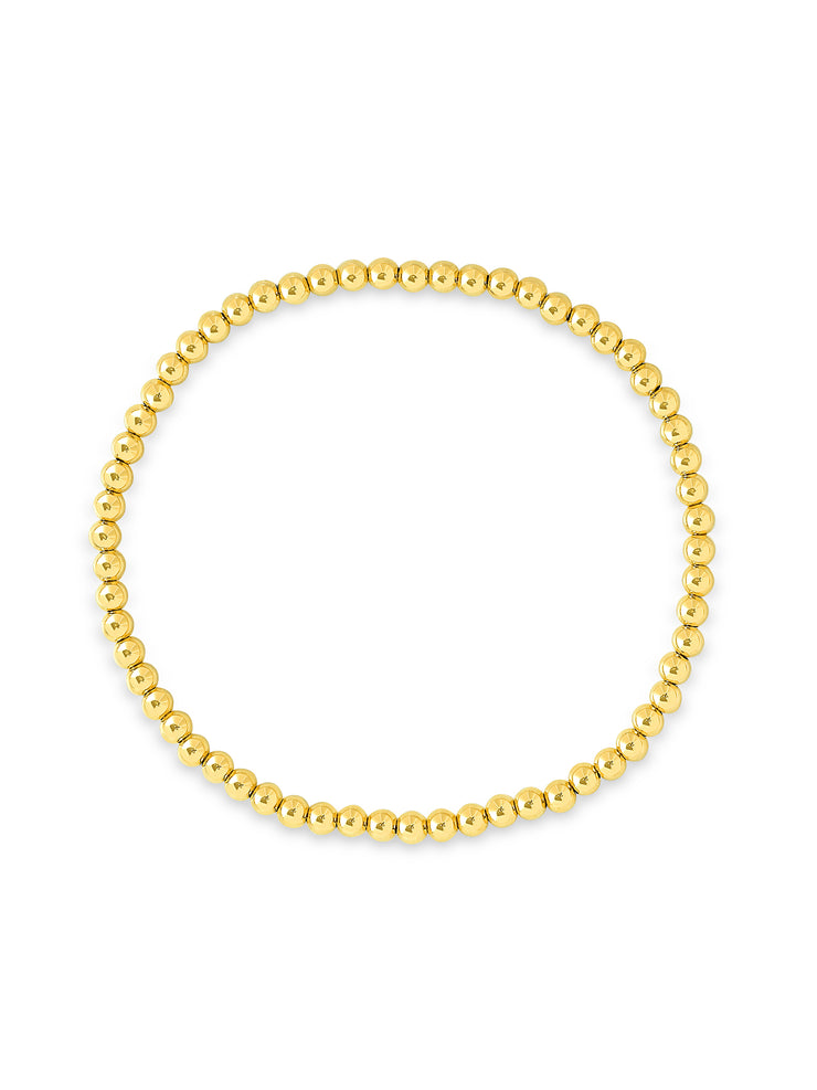 Everyday Stretch Bracelet - 3mm Yellow