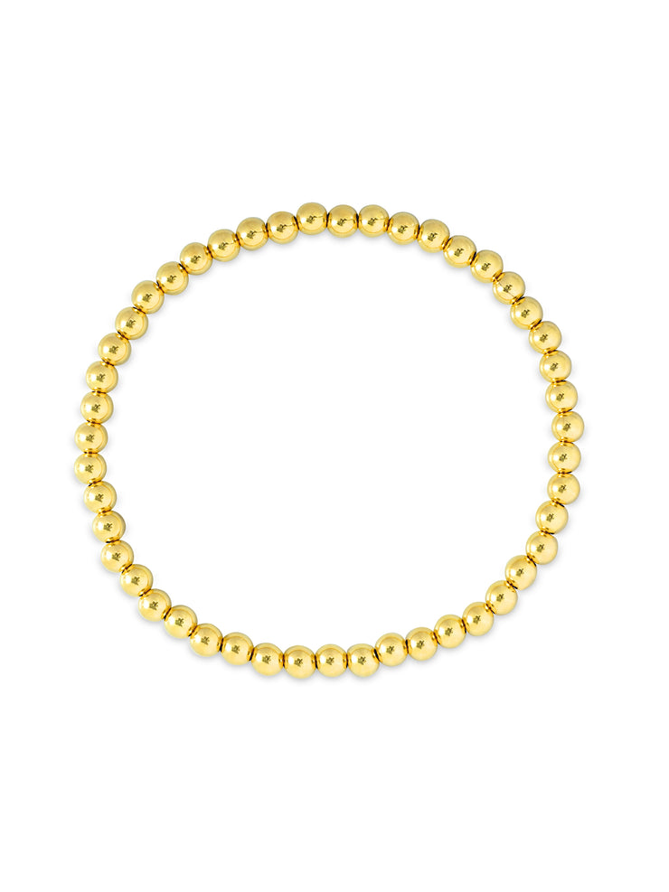 Everyday Stretch Bracelet - 4mm Yellow