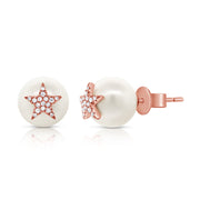Superstar Pearl Stud Earrings