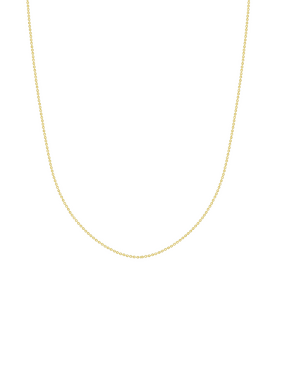 Simple Cable Chain   - 14k Gold