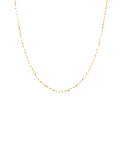 Dainty Mini Gold Chain Necklace 14k