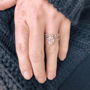 Oval Four Prong Engagement Ring