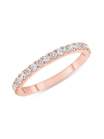 Perfect Sparkle Diamond Ring 14k Rose