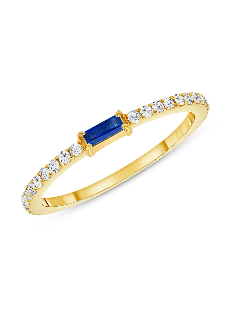 Madeline Ring in Blue Sapphire 14k