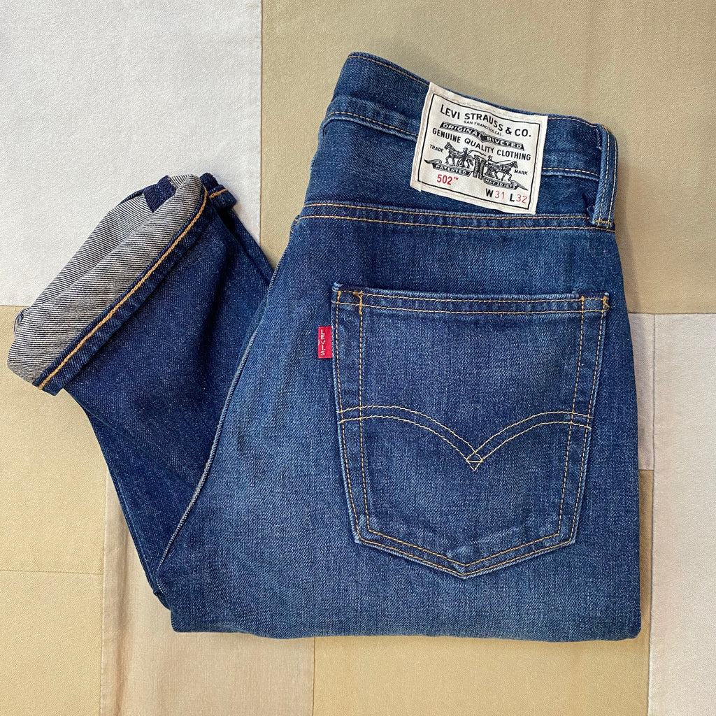 Levi's 502 Taper Hemp, Dark-wash