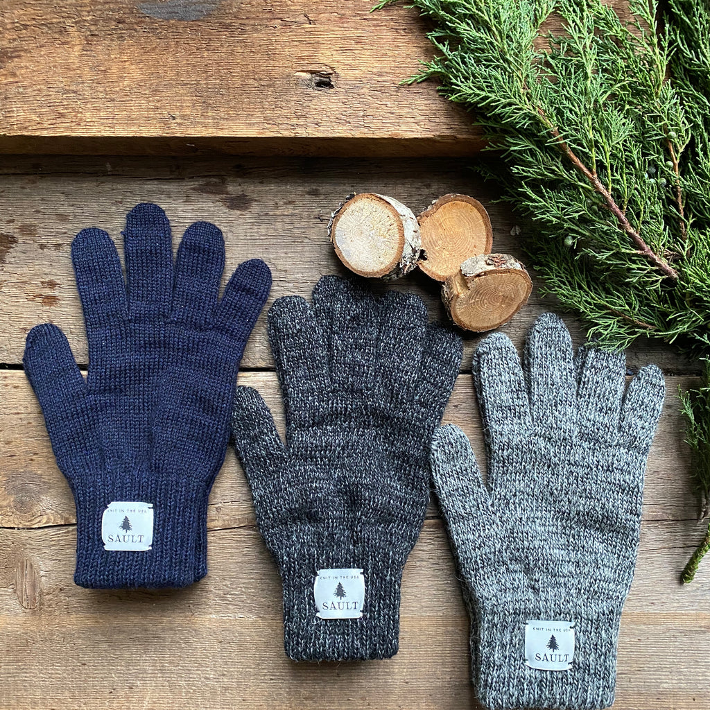 Ragg Wool Full Finger Glove