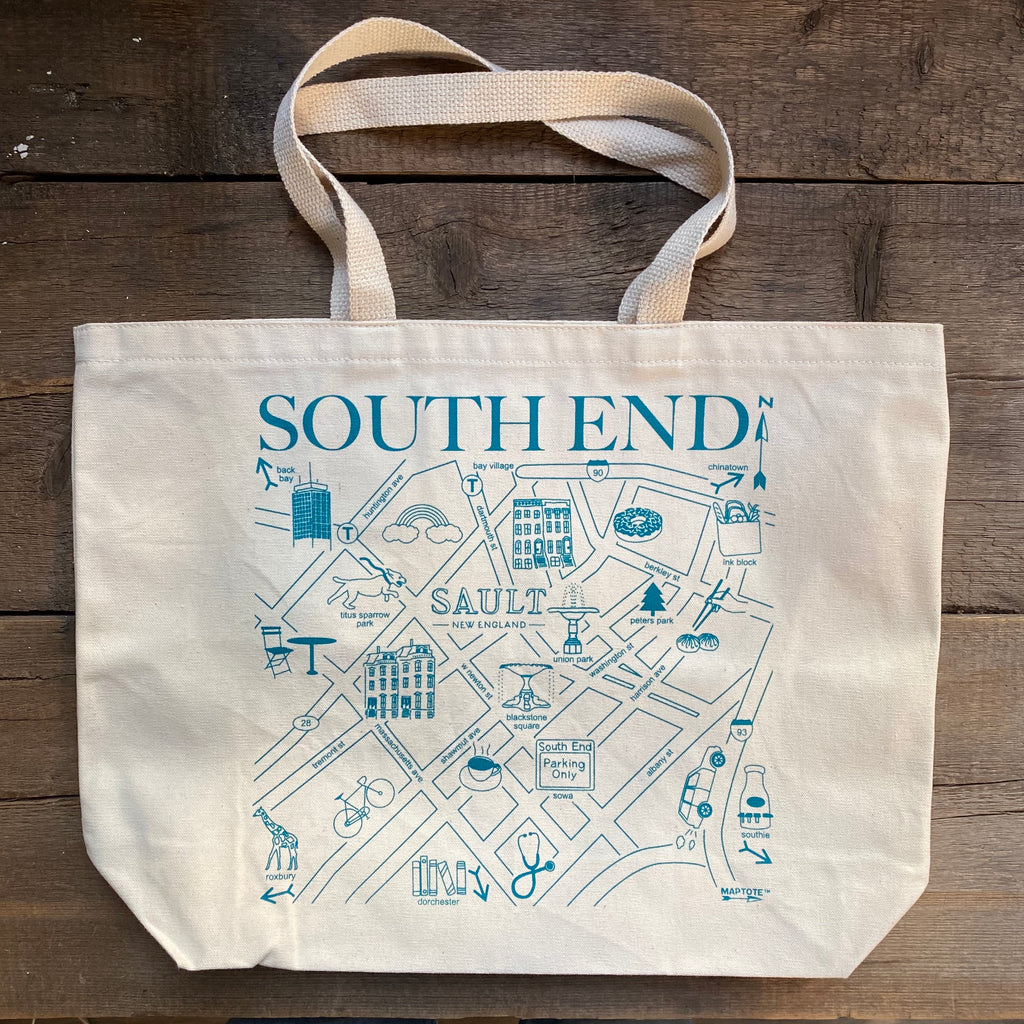 South End Beach Tote