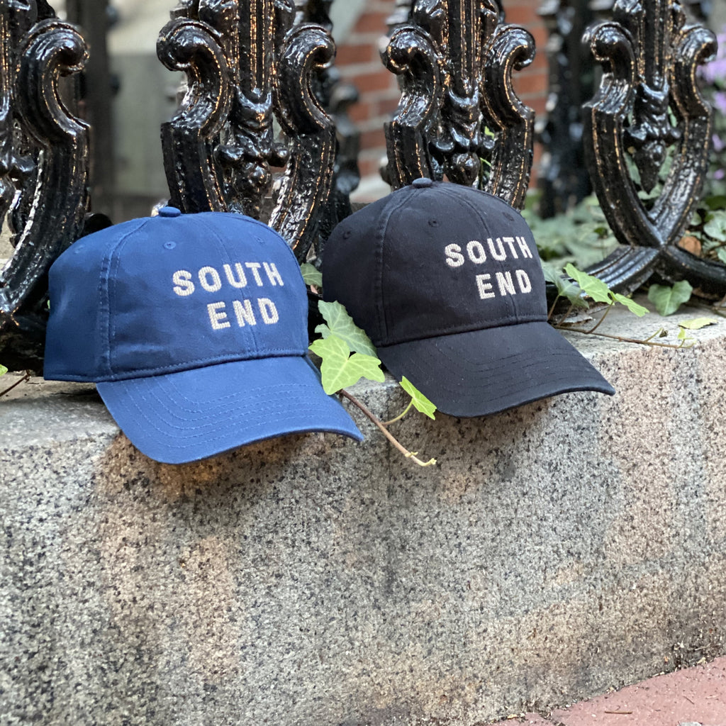 South End Needlepoint Hat, Black