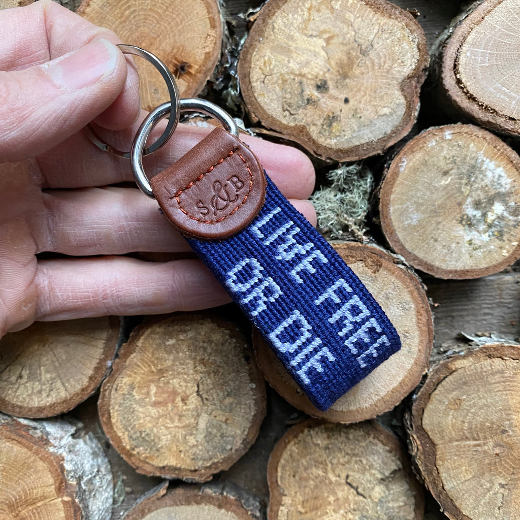 Live Free or Die Key Fob