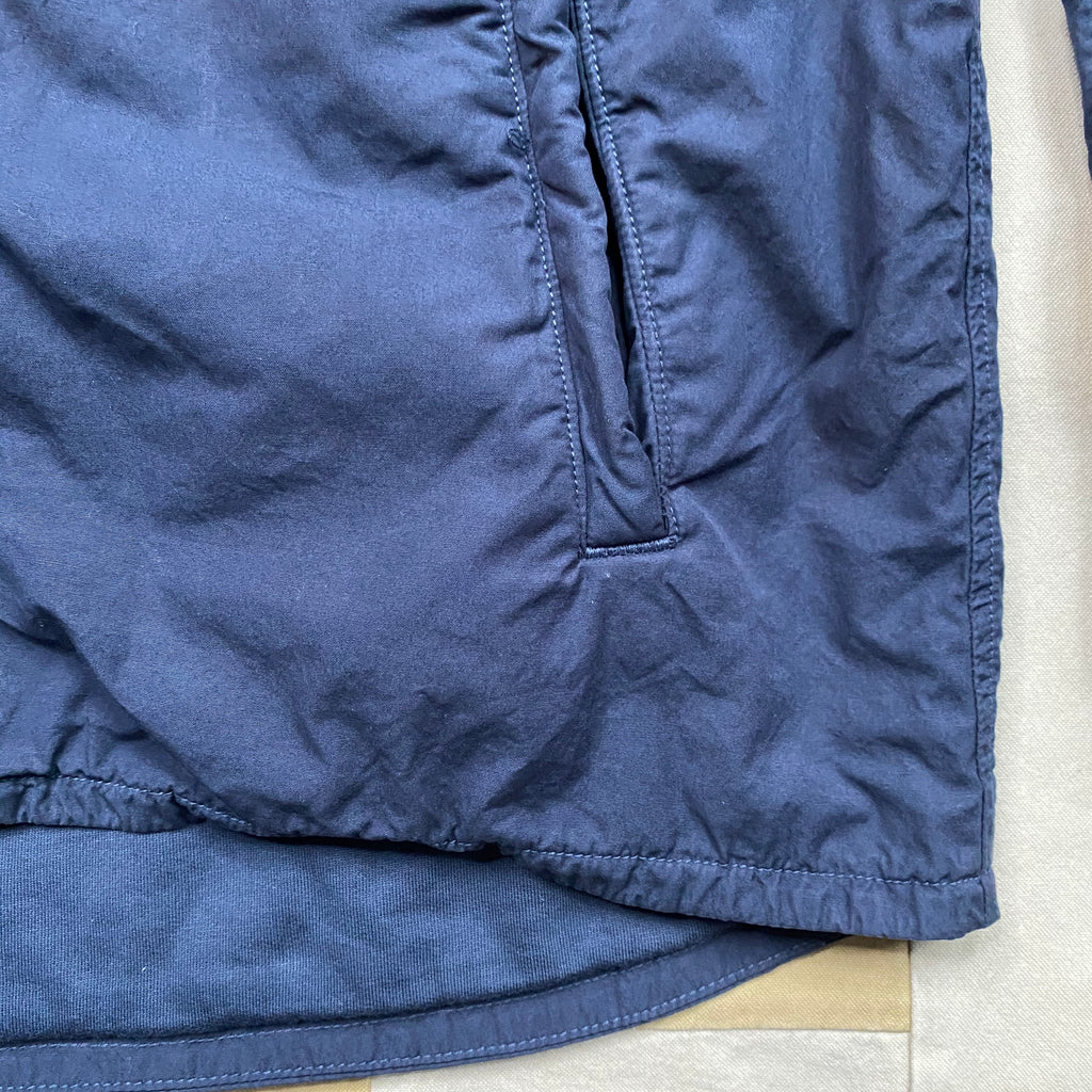 Fleece Lined Shirt Jacket, Marine