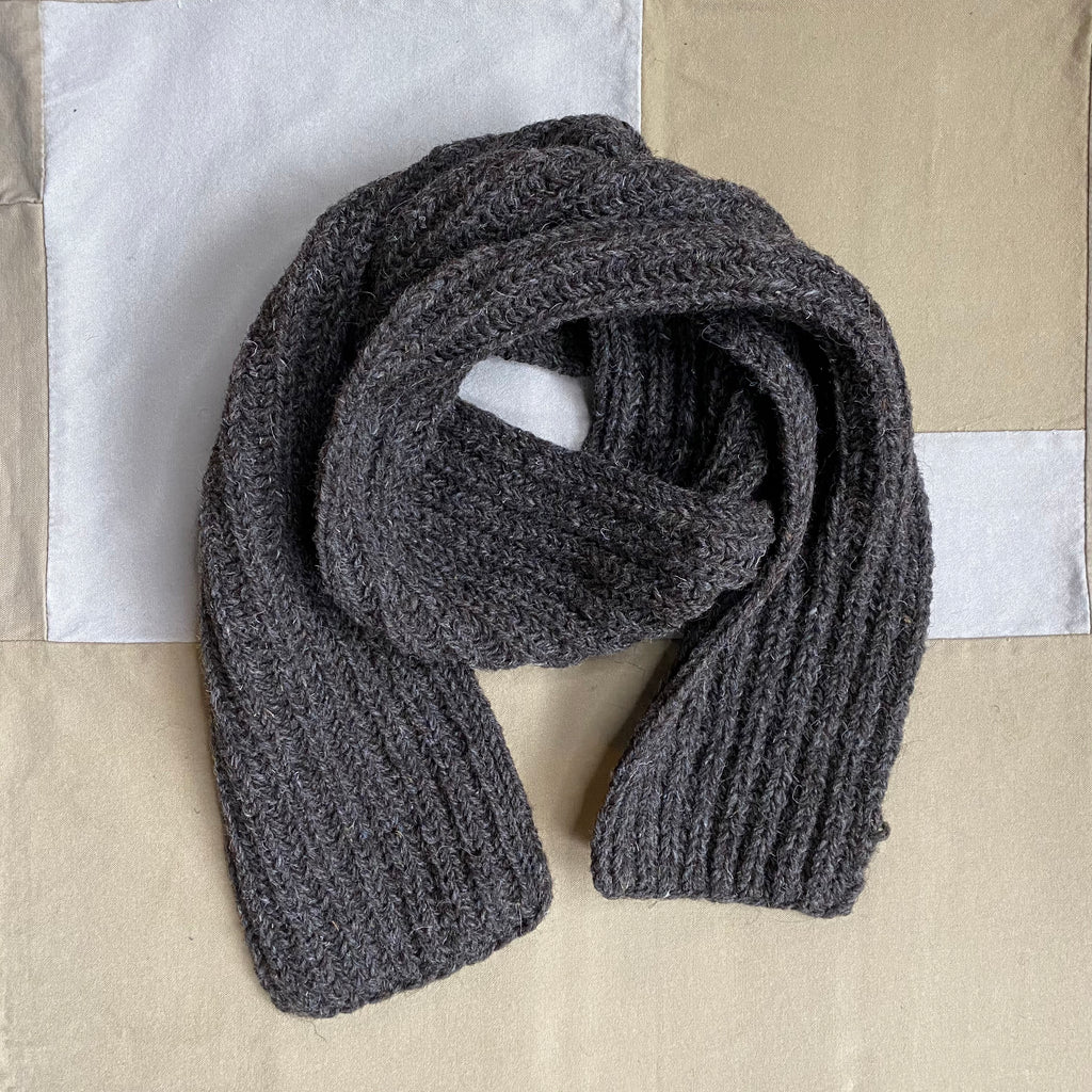 Chunky Knit Solid Scarf