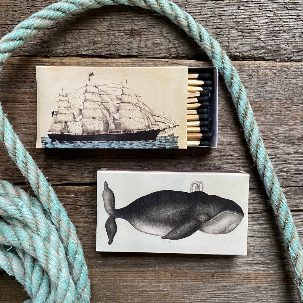 Whale & Clipper Ship Matches