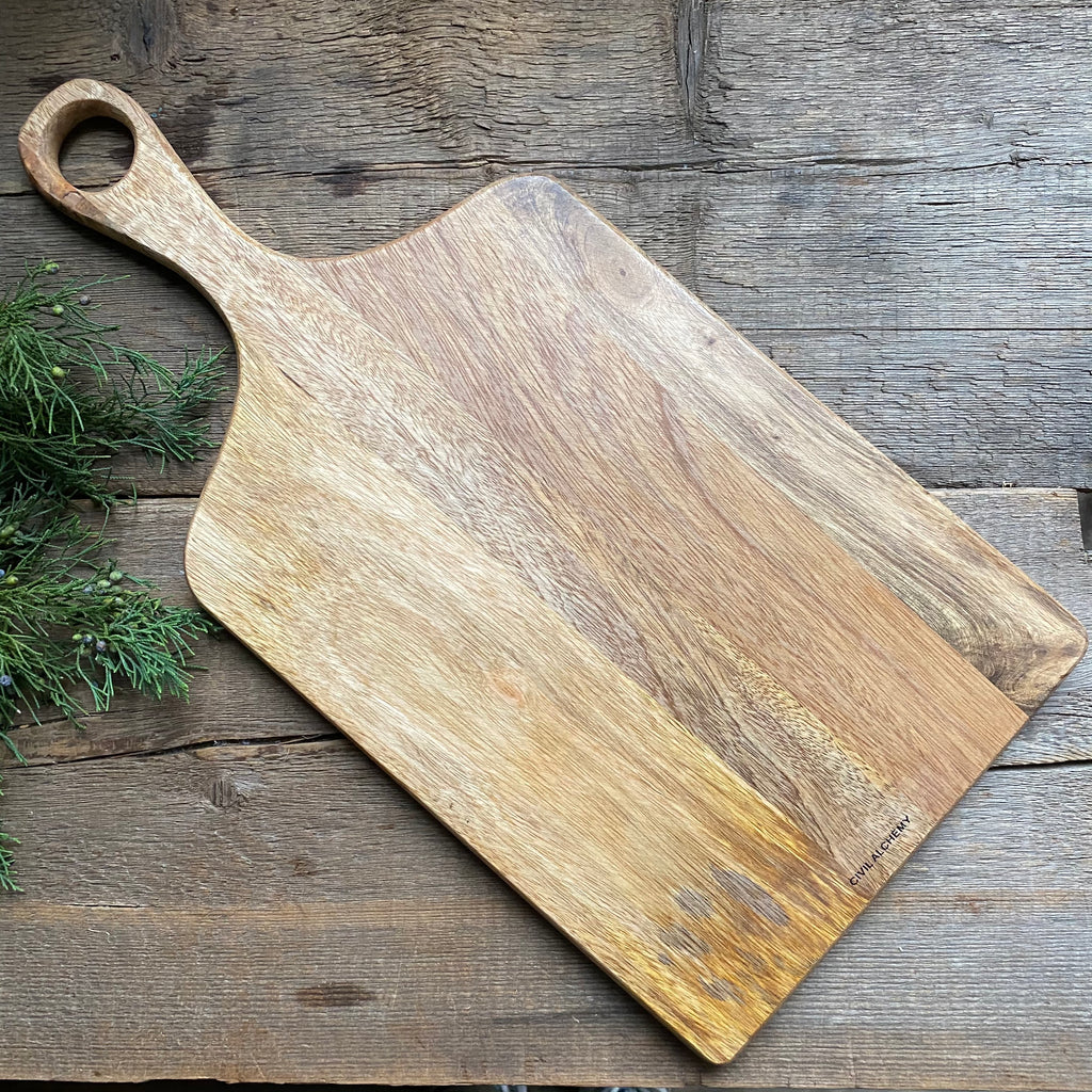 "Wood Cutting Boards, 9.25"" or 10.5"""