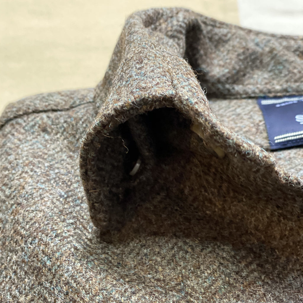 Wool Herringbone Overshirt