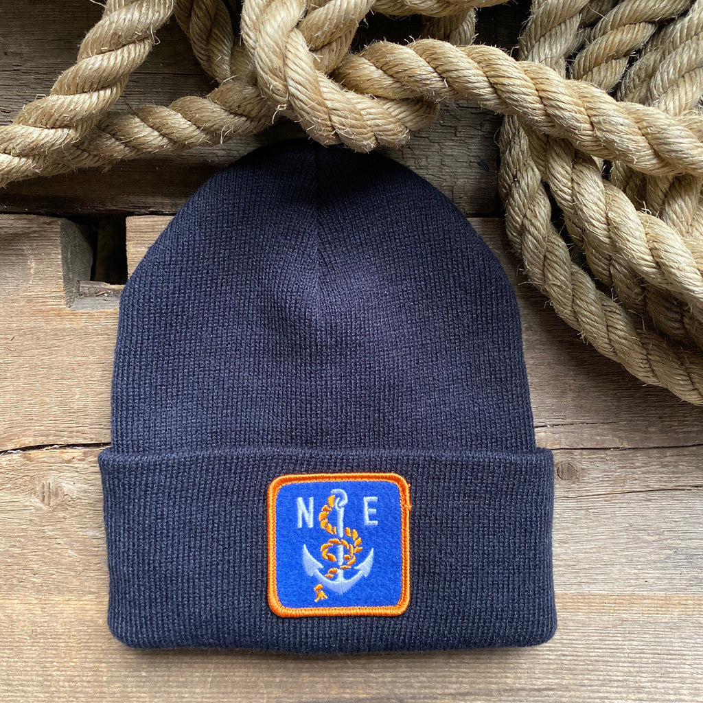 NE Anchor Patch Beanie