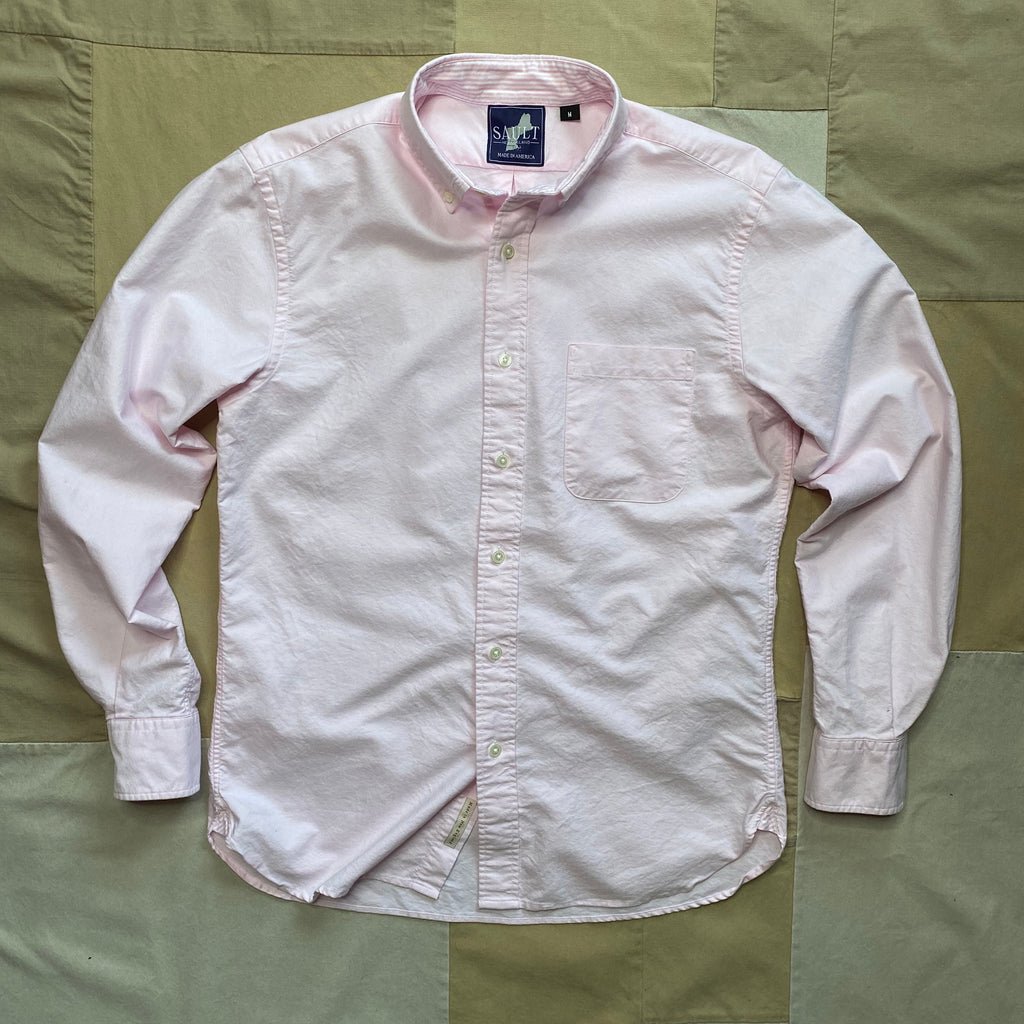 Classic Long Sleeve Oxford Shirt, Pink