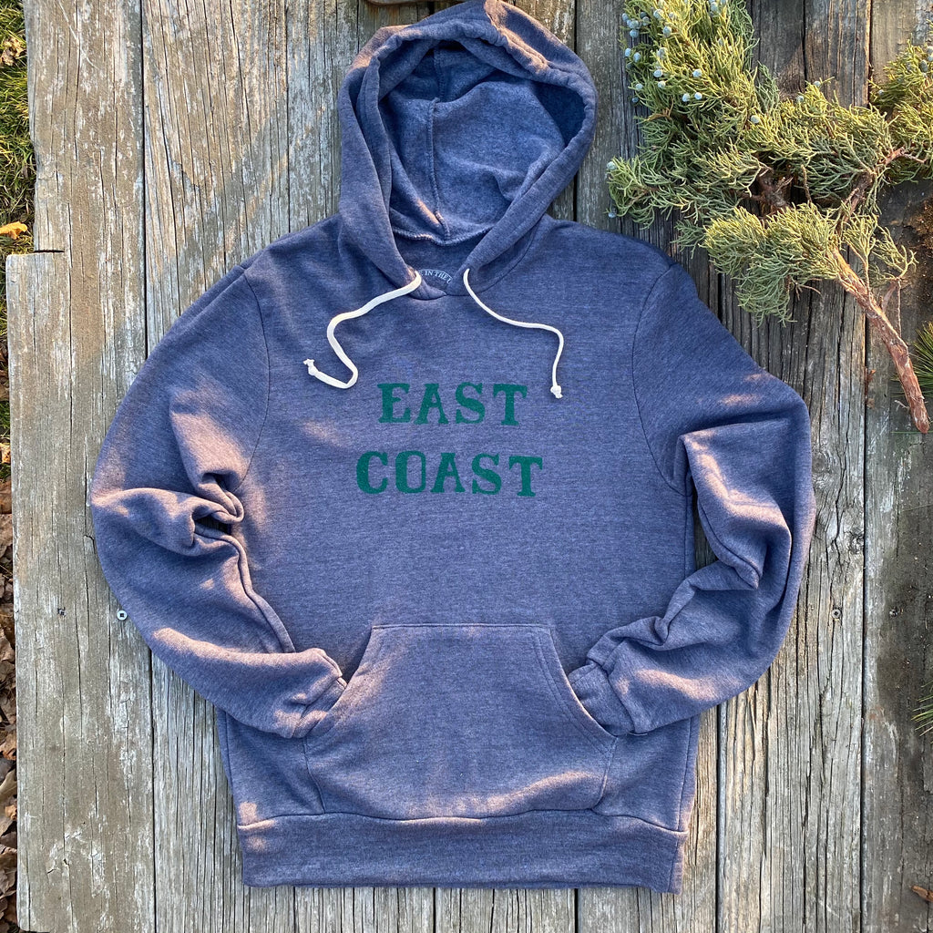 East Coast Pullover Hoodie, Navy/Forest
