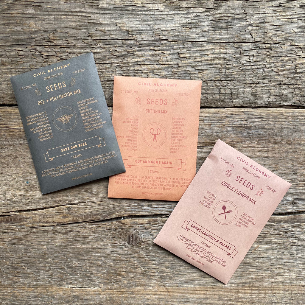 Seed Packets By Civil Alchemy