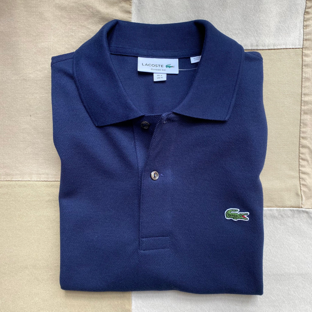 Classic Fit Polo, Navy Blue