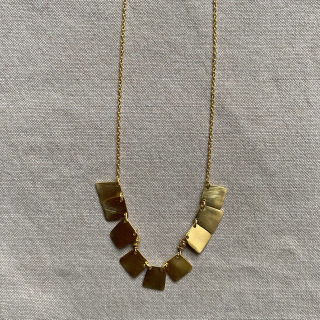 Malta Necklace, Gold