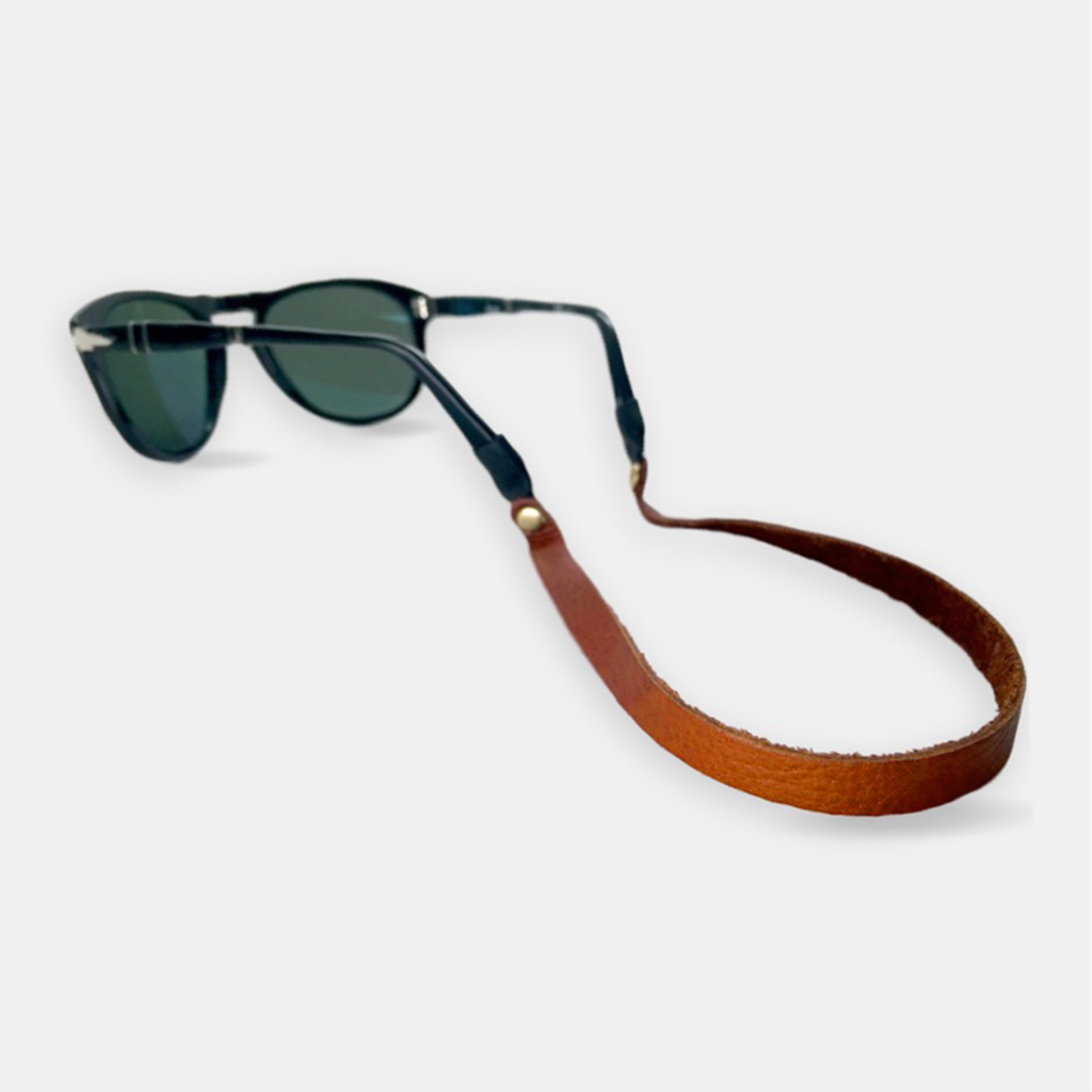 Montauk Sounders Leather Sunglass Strap
