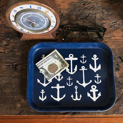 Maritime Anchor Catchall Tray