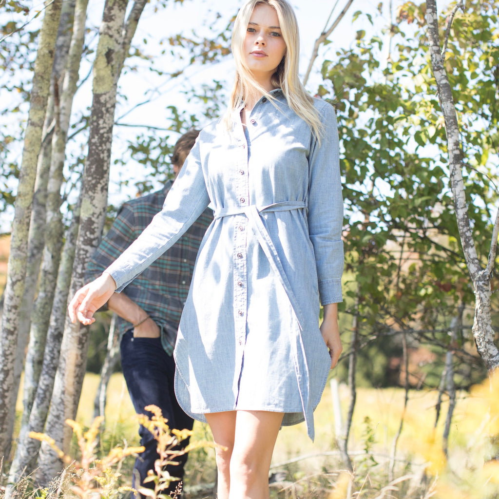 Mimi Chambray Dress