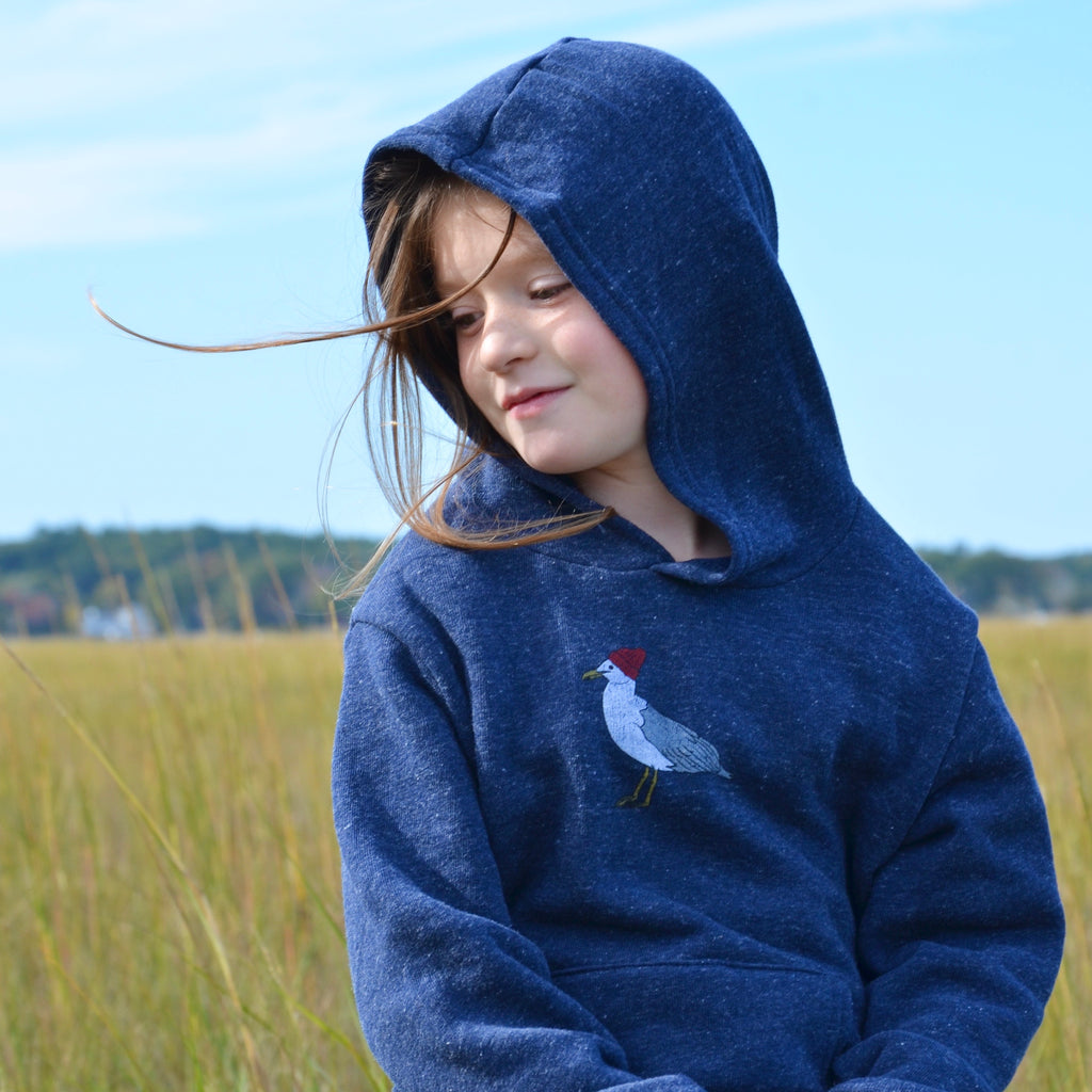 Little Seagull Pullover Hoodie