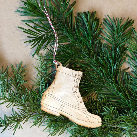 Holiday Specialty Wooden Ornaments