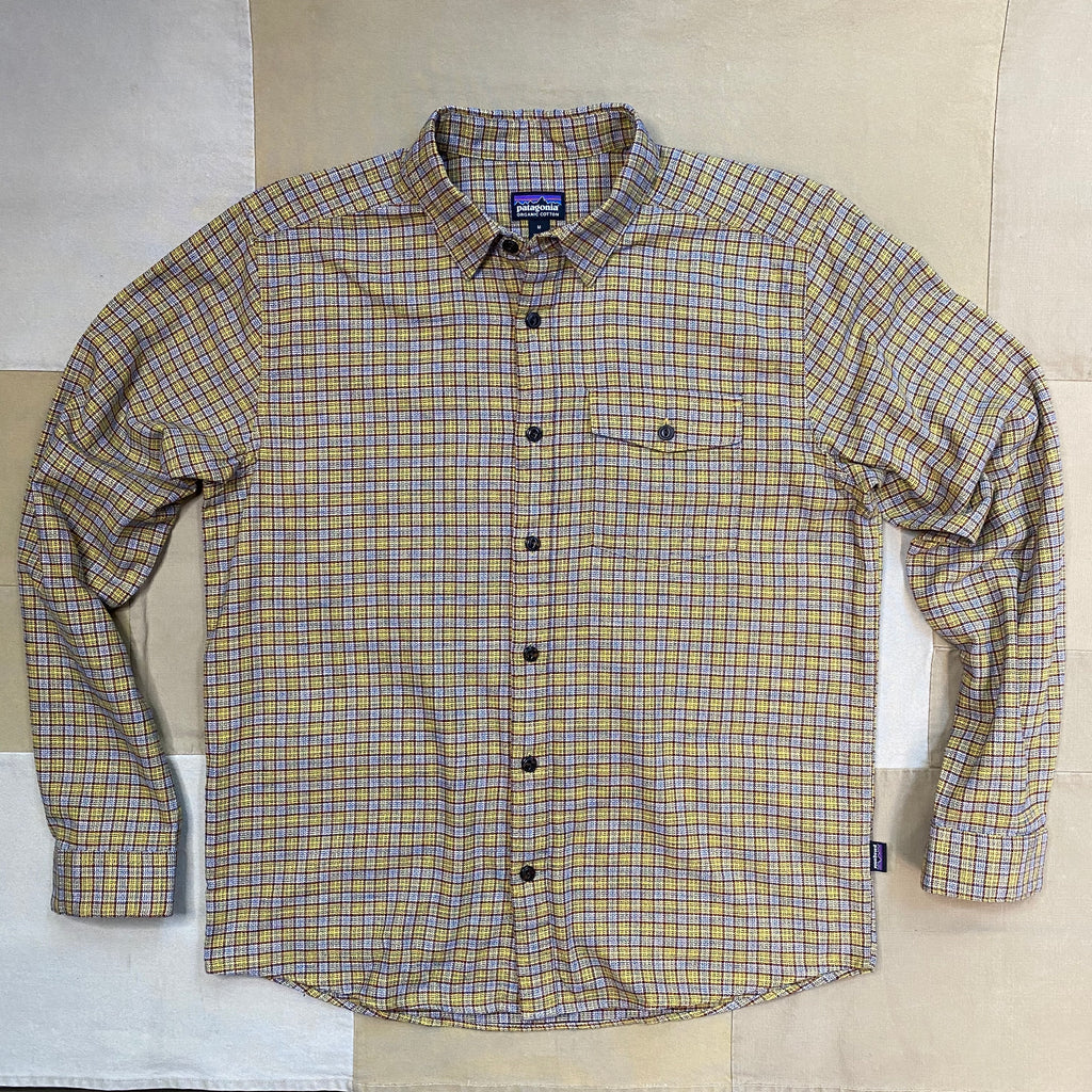 Patagonia Fjord Flannel Shirt, Mountain Yellow