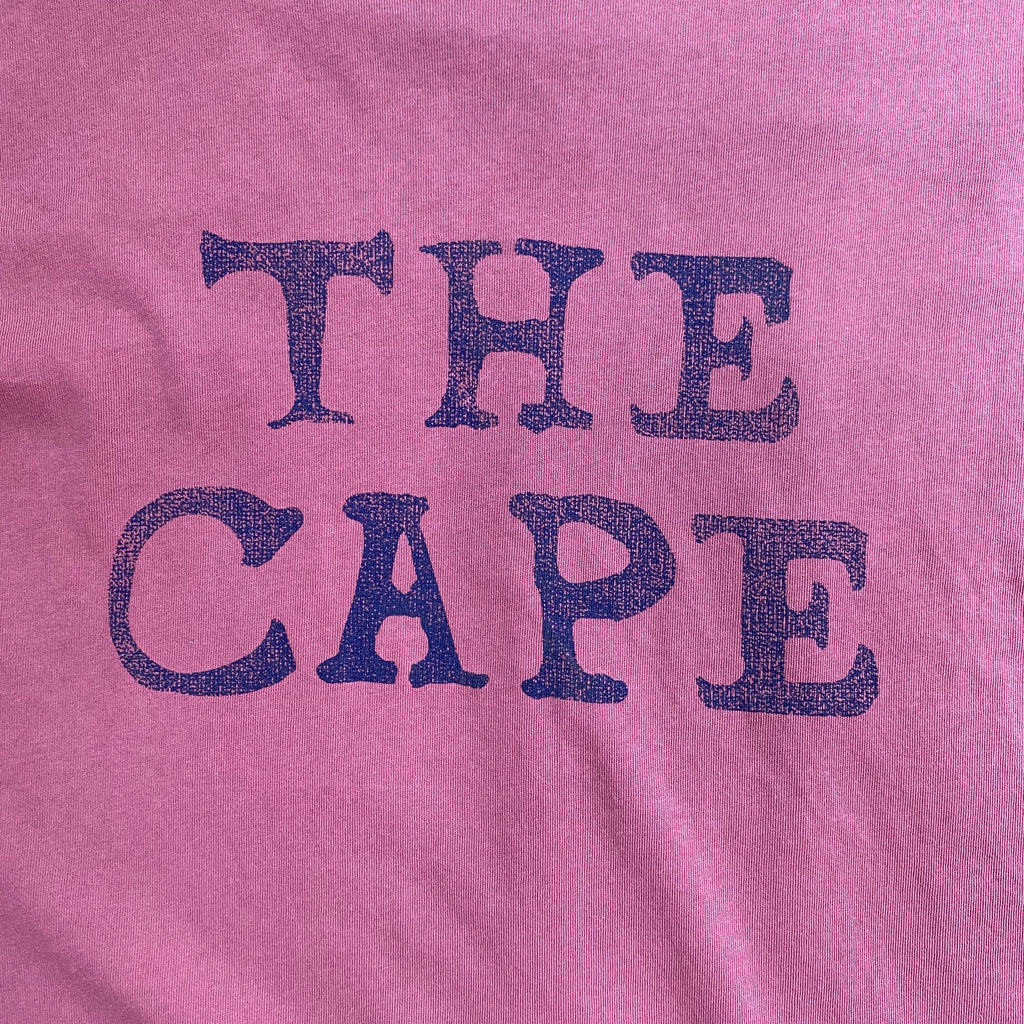 The Cape Crewneck T-shirt, Washed Red