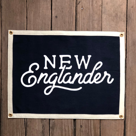 New Englander Camp Flag
