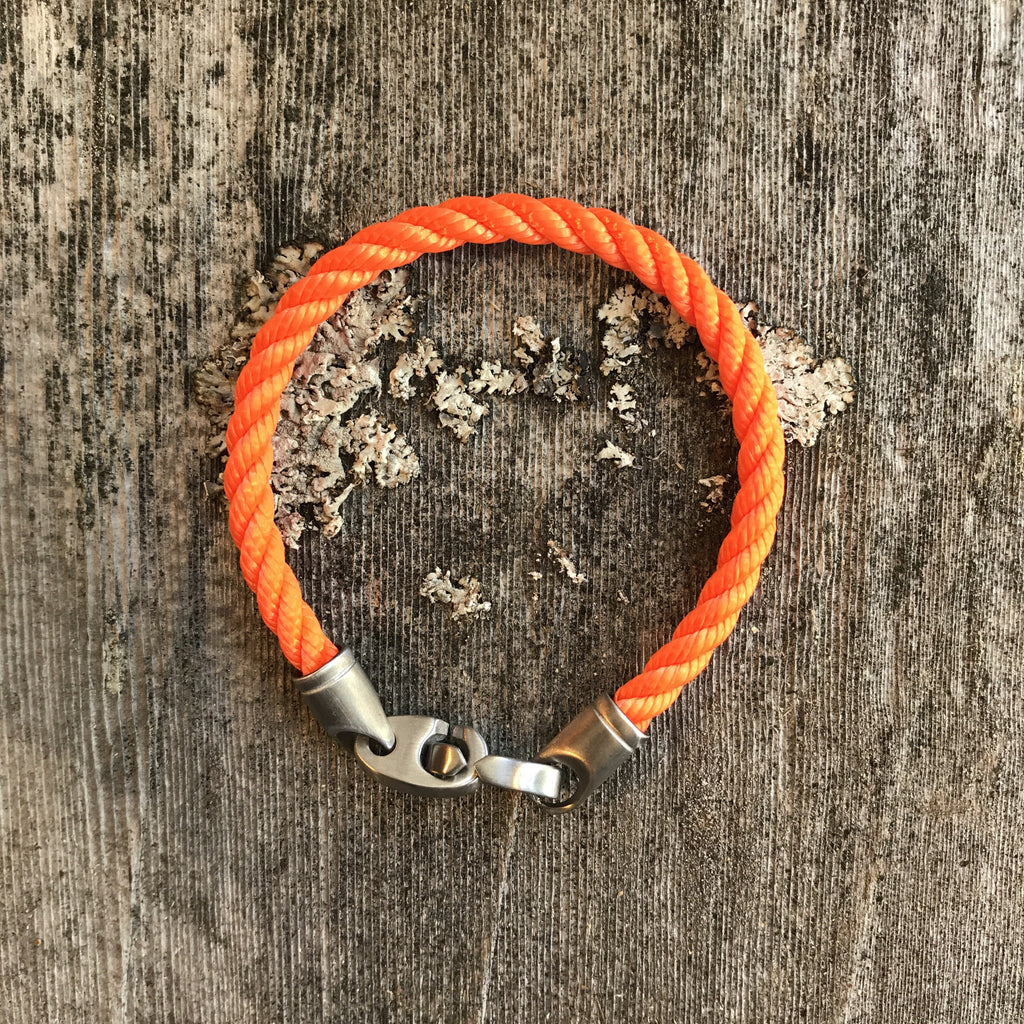 Catch Single Rope - Orange/Steel