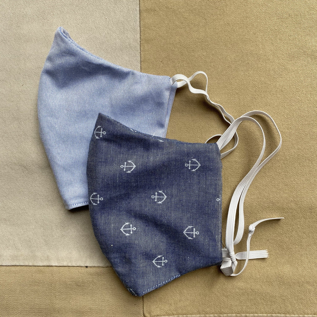 Oxford / Nautical Cotton Mask Bundle