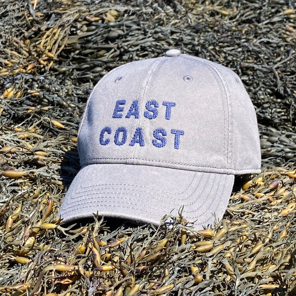 East Coast Needlepoint Hat, Dark Grey