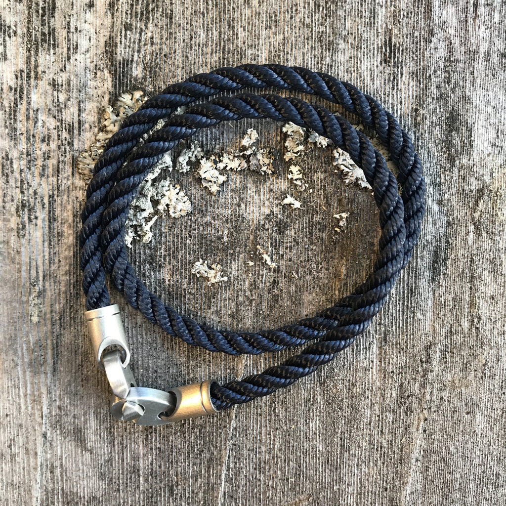 Catch Double Rope - Navy/Silver